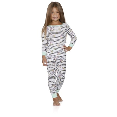 3113a7383 Prestigez Girls 4 Piece Fancy Cotton Pajamas Sets