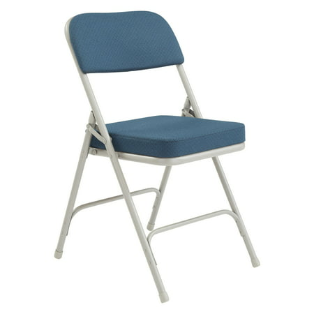 National Public Seating 2 in. Thick Padded Folding Chair - 2 Pack