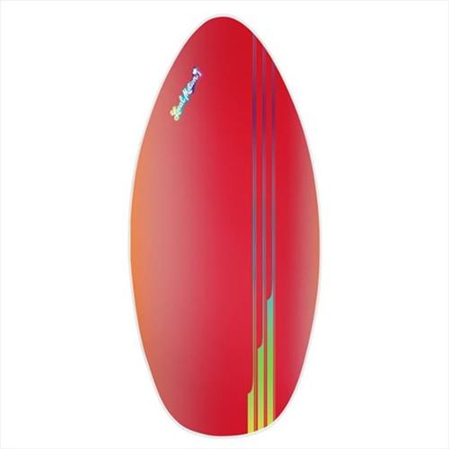 Local Motion LSK45-RED Local Motion 40 inch Wood Laminate Skim Board, Red