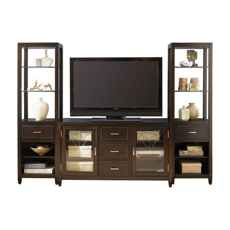 Liberty Furniture Industries Caroline Entertainment Center with Piers
