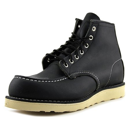 eded9552149 Red Wing Shoes Heritage Men Round Toe Leather Black Work Boot