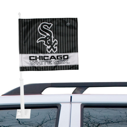 Chicago White Sox Double-Sided Car Flag - No Size