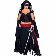 Lady Zorro Womens Adult Halloween Costume