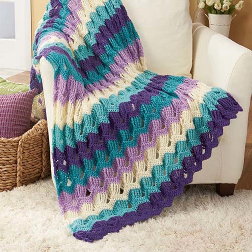 Garden Gate Crochet Afghan Kit By Herrschners