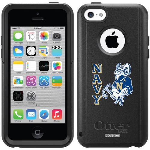 487c9ffb0b6 US Naval Academy Navy Design on OtterBox Commuter Series Case for Apple  iPhone 5c - Walmart.com
