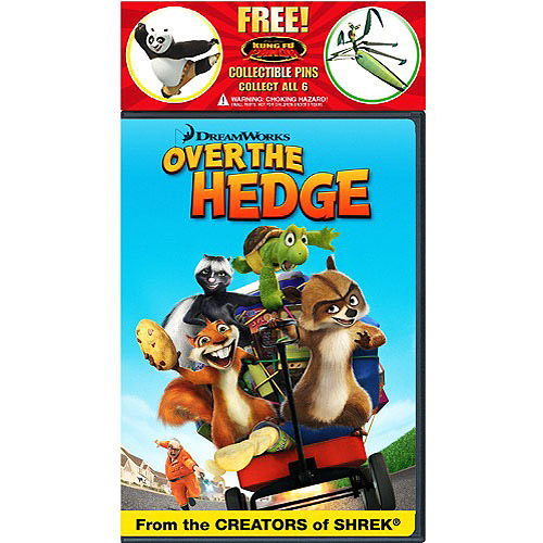 Over The Hedge (Kung Fu Panda Pin Promotion) (Widescreen)