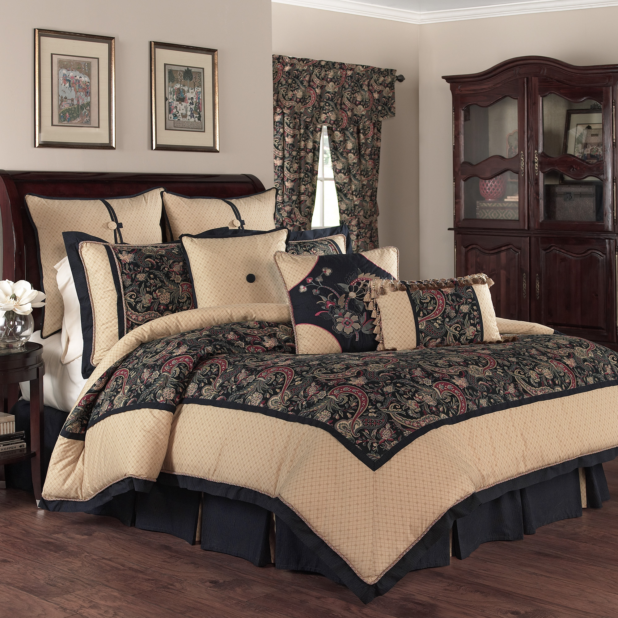 Waverly Rhapsody 4-Piece Bedding Collection
