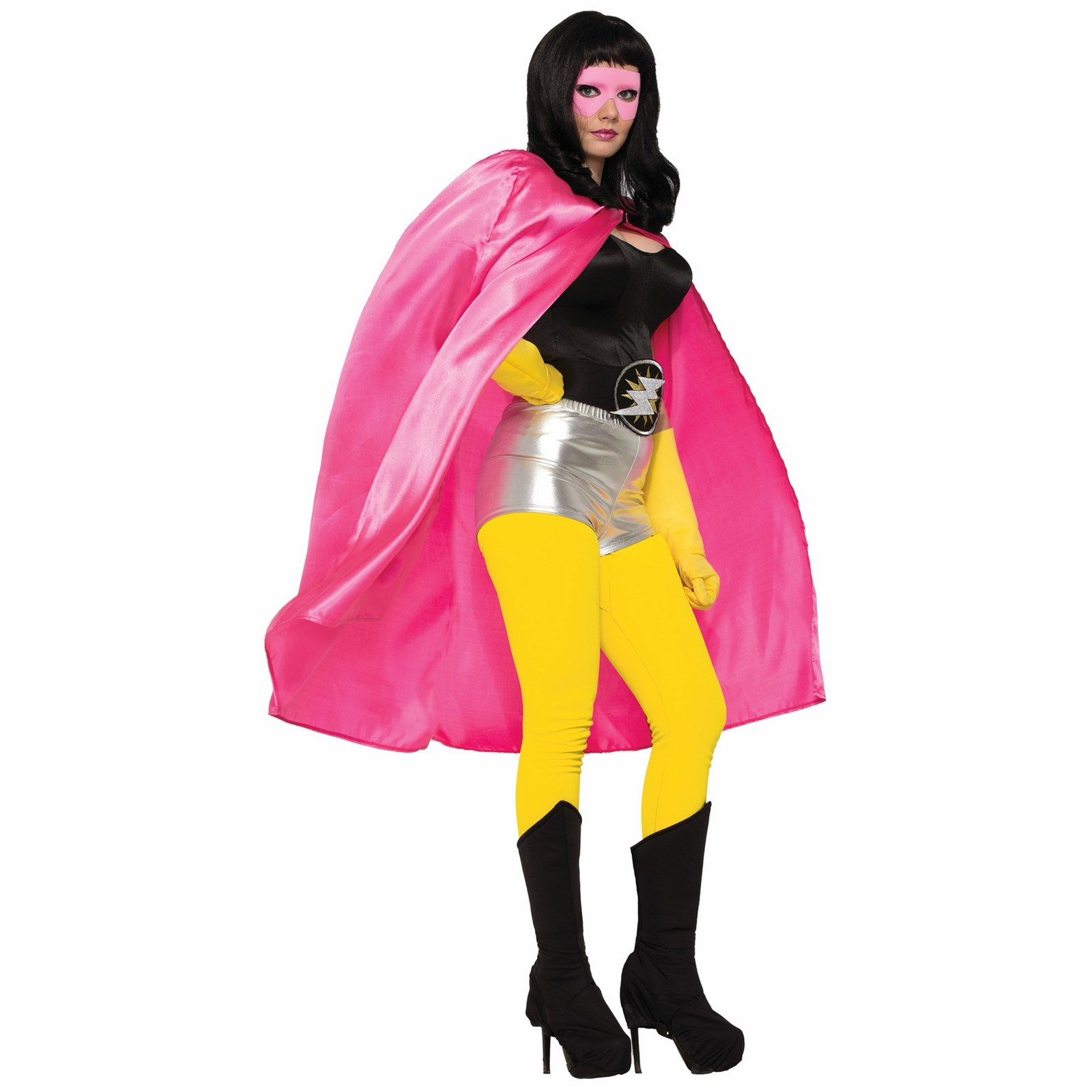 Pink Adult Cape Halloween Costume Accessory