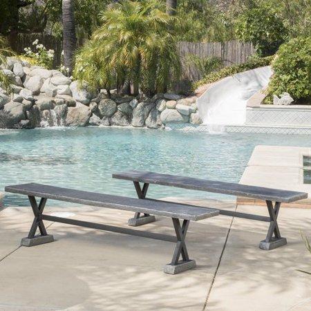 Home Loft Concepts Besni Magnesium Oxide Picnic Bench