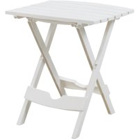 Adams Manufacturing Quik-Fold Side Table-White