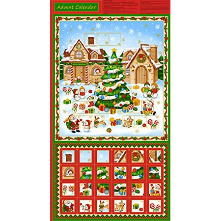 clearance saleadvent calender for christmascotton fabric by fabri quilt - Walmart Christmas Clearance