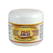 Pain Away Cream - 4 Ounce - Unscented - Neuropathy Pain Relief Cream and Arthritis Pain Relief Cream with Emu Oil, Glucosamine Sulfate and MSM