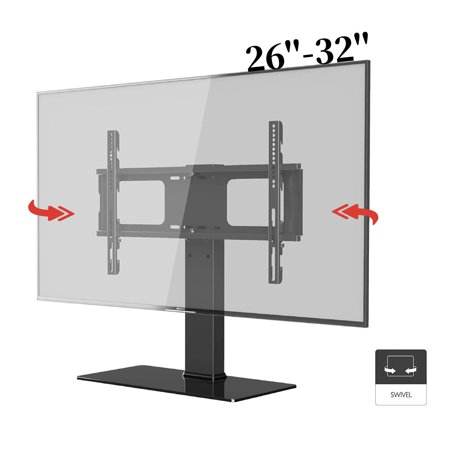 Zaqw Universal TV Stand Base Tabletop TV Stand For 26'' - 32'' Inch TV LCD LED Plasma TV Swivel TV Table Top Stand Samsung Sony LG vizio TV Stand Samsung Plasma Tv Stands