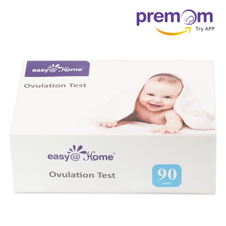 ;Easy@Home 90 Ovulation Test Strips Kit - the Reliable Ovulation Predictor Kit (90 LH Test)