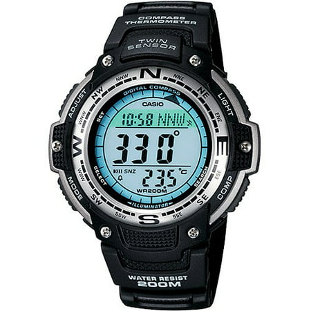 Casio Men's Twin Sensor Digital Compass Sport Watch SGW100-1V ()