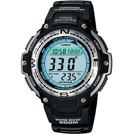 Casio Men's Twin Sensor Digital Compass Sport Watch