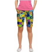 Loudmouth Golf Womens LM Greatest Hits Vol 1 10 Shorts
