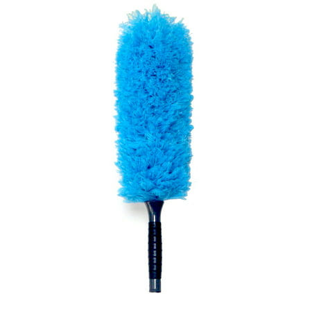 EVERSPROUT Microfiber Feather Duster | Extra-long 22'' Brush Head with Handle | Lightweight, Attracts Dust | Twists onto Standard ACME Threaded Pole | (Duster Attachment Only, No - Brush Standard Handles