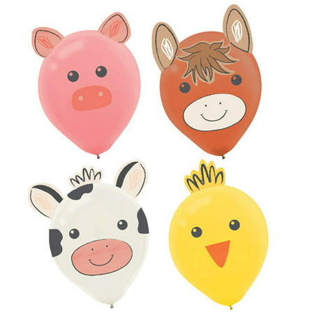 Farm Party 'Barnyard Birthday' Balloon Decorating Kits