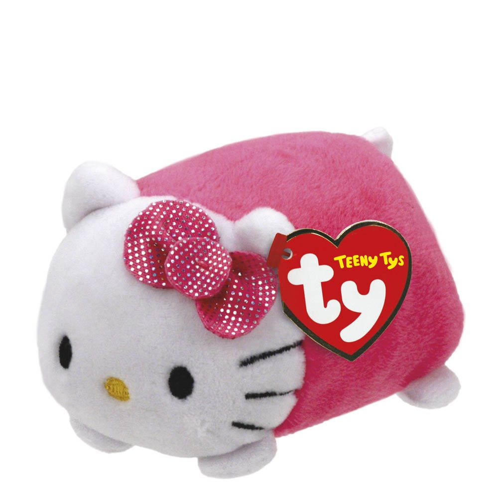 Hello Kitty Pink Teeny Ty Stuffed Animal by Ty (42177) by TY