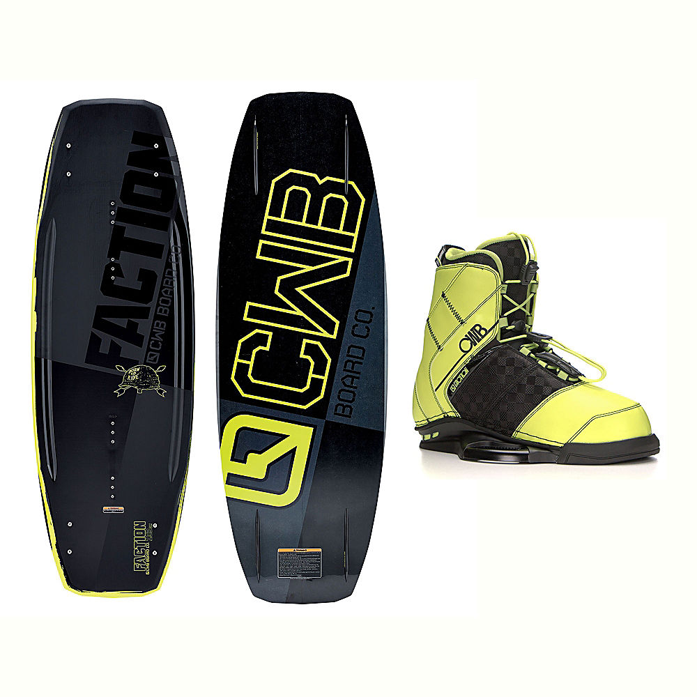 CWB Faction Blem Wakeboard With LTD Faction Bindings 2017 by CWB