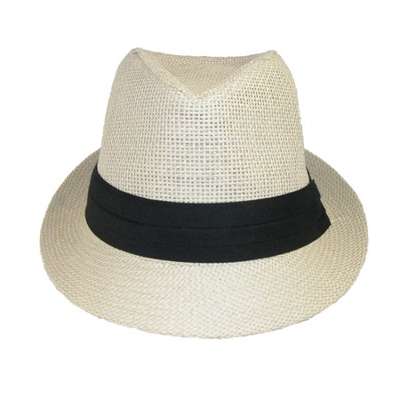 c046bd6ad4c4f Jeanne Simmons Kids  Straw Pleated Band Easter Fedora Hat - image 1 ...