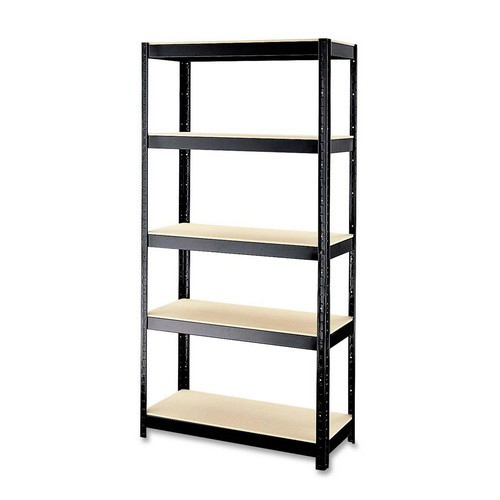 CommClad Rust-resistant 72'' H 5 shelf Shelving Unit