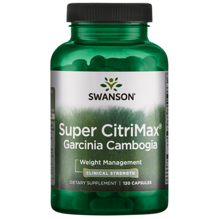 Swanson Super Citrimax Garcinia Cambogia 120 Caps (Best Plexus Products For Weight Loss)