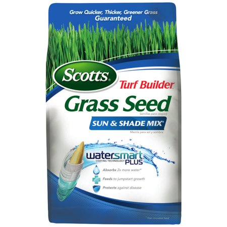 Scotts Turf Builder Grass Seed Sun & Shade Mix - 1,200 sq feet