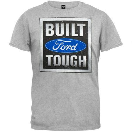 Ford - Built Tough Stamp Grey -