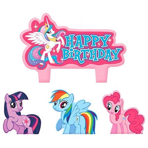 AMSCAN Party Time My Little Pony Friendship Molded Mini C...