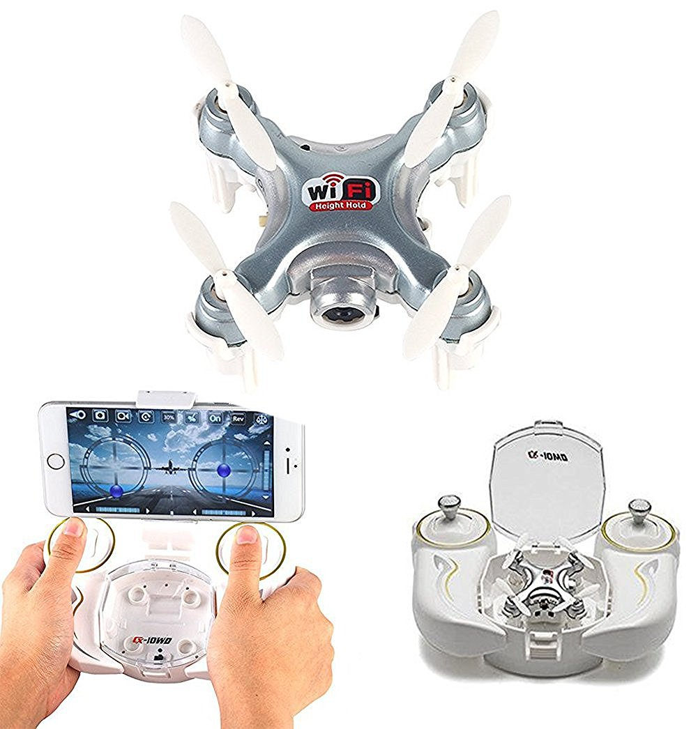 Cheerson WIFI FPV 2.4Ghz 4CH 6-Axis RC Quadcopter Drone Camera CX-10WD-TX
