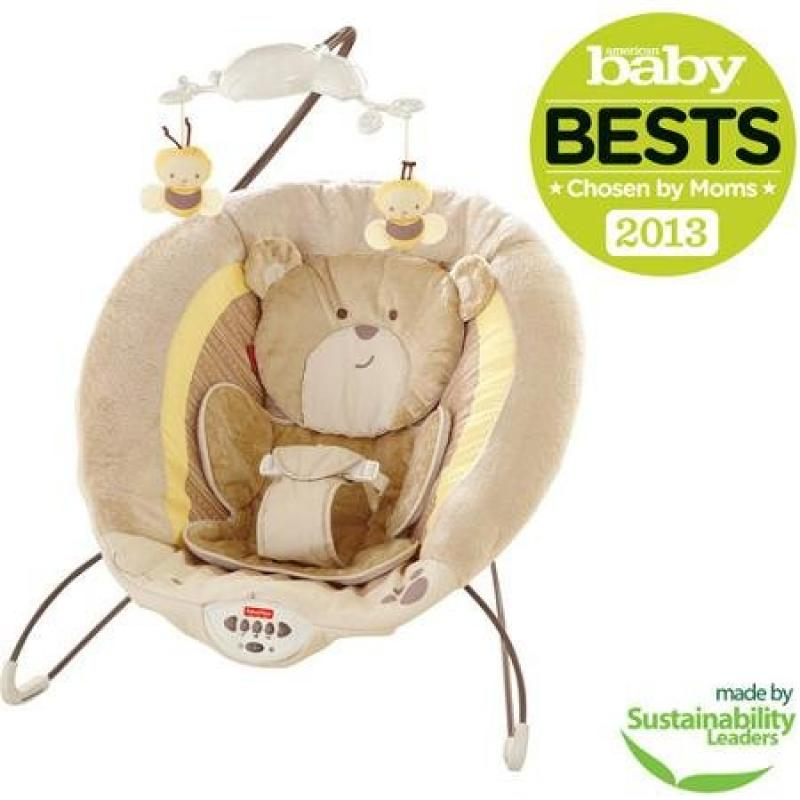 Fisher Price Deluxe Bouncer, My Little Snugabear by Fisher-Price