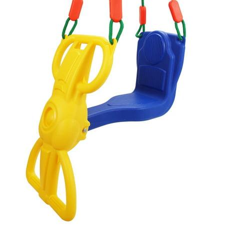 Backyard Kids Rider Glider Swing with Hangers