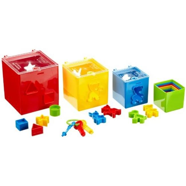 Get Ready 453-28 Gowi Toys Stack and Sort Tower