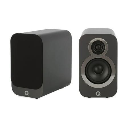 Q Acoustics 3010i Compact Bookshelf Speaker Pair Graphite