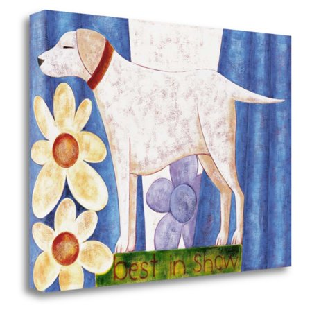 Show Fine Art (Tangletown Fine Art Best In Show Canvas Wall Art By Kate)