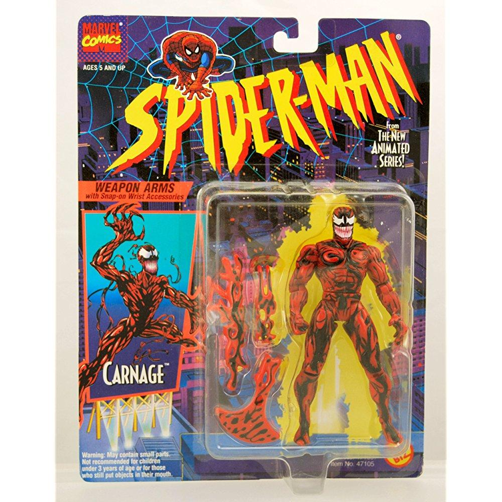 Toy Biz spider-man the animated series carnage