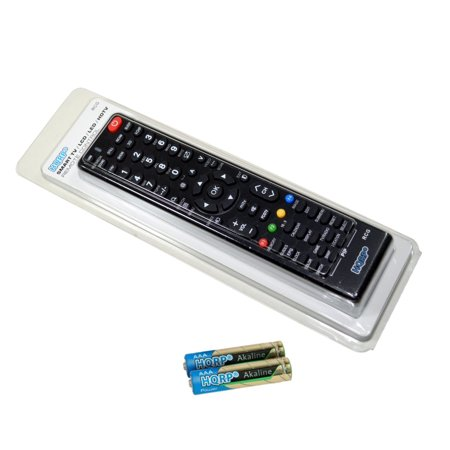 HQRP Remote Control for TCL LE55FHDE5510C LE55FHDE5510 55FS4690 55FS3700 55; LCD LED HD TV Smart 1080p 3D Ultra 4K + HQRP Coaster