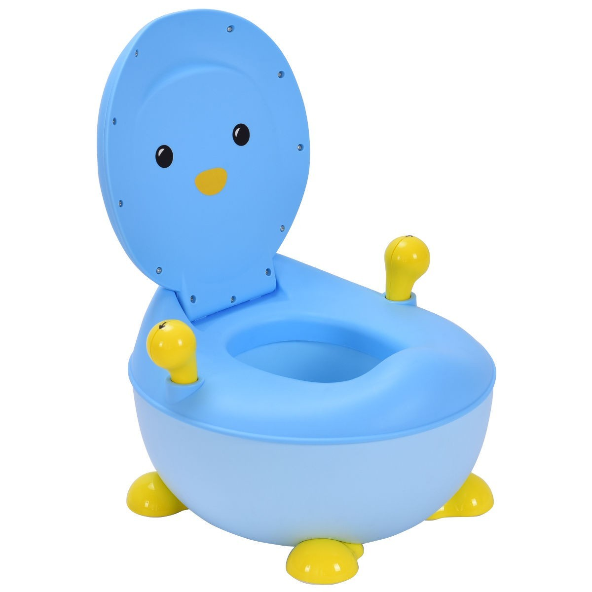Penguin Portable Baby Seat Trainer Potty Toilet Blue by Apontus