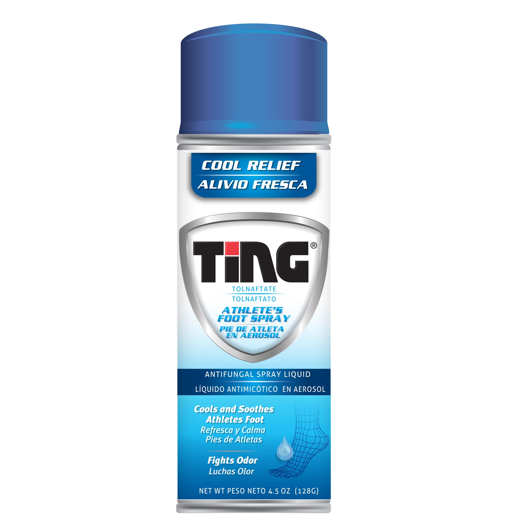 Ting Athlete's Foot Spray, 4.5 Fl Oz