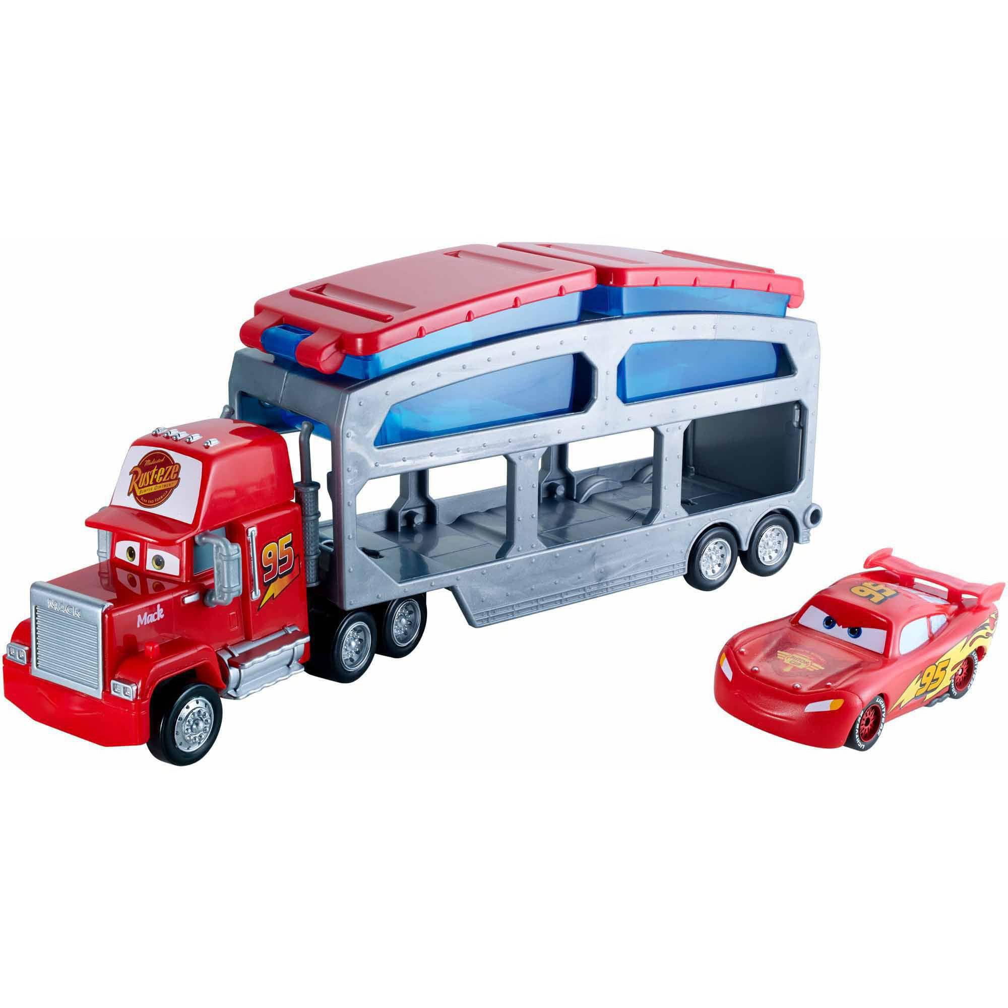Disney/Pixar Cars Mack Dip And Dunk Trailer - Walmart.com