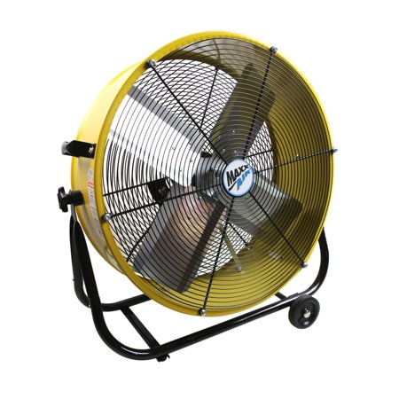 MaxxAir 24 Inch Direct Drive Tilt - Direct Drive Barrel Fan