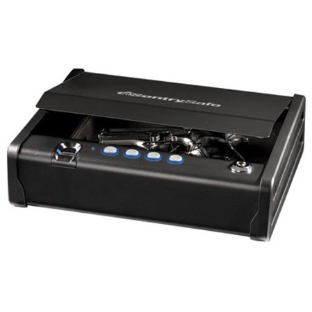 SentrySafe Pistol Safe, Quick Access Biometric Gun Safe, Single Gun Capacity