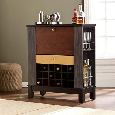 Liquor Storage Cabinet Wine Buffet Wooden Wine Pub