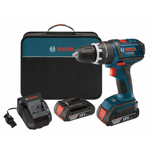 Factory-Reconditioned Bosch DDS181-02-RT 18V Cordless Lithium-Ion Compact Tough 1 2 in.... by Bosch