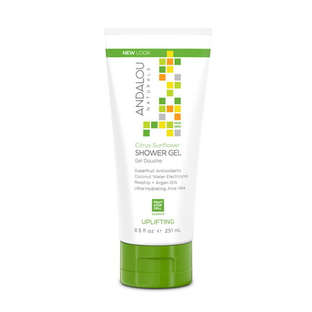 Andalou Naturals Shower Gel, Citrus Sunflower, 8.5 Oz