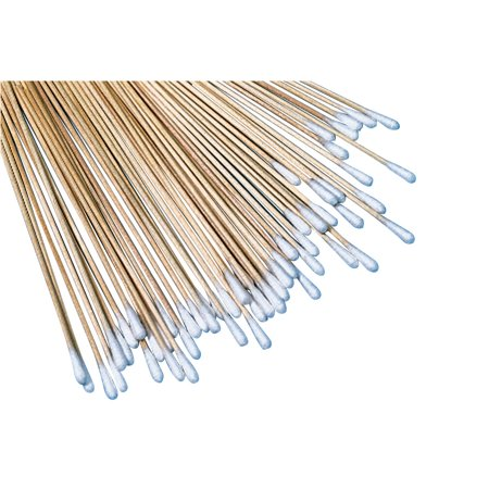 Creativity Street Sax Cotton Art/Craft Swab with Wood Shaft, 6 in, Pack of 100