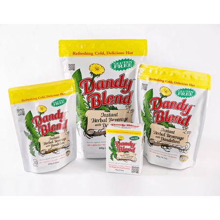 Dandy Blend Instant Herbal Beverage with Dandelion - Organic 3.53 oz (100 grams) Pkg Dandelion Organic Cotton