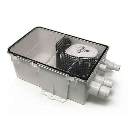 Five Oceans Shower Sump System Pump, 12V FO-3611 12v Ac Backup Sump Pump